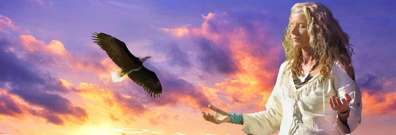 white eagle healing